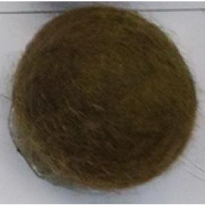 filc kroglice 1 cm, rjave, 1 kos
