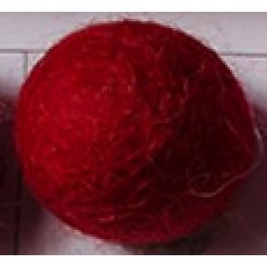 filc kroglice 2 cm, red, 1 kos