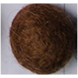 filc kroglice 2 cm, rjave, 1 kos