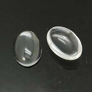 steklena kapljica 18x13 mm, prozorna, 1 kos