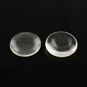 steklena kapljica 8 mm, prozorna, 1 kos