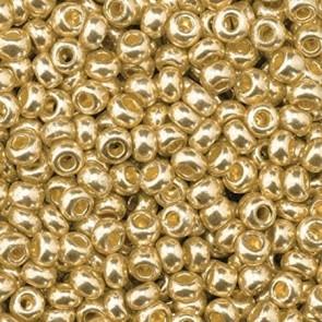 EFCO steklene perle 3,5 mm, barva starega zlata, 17 g