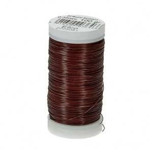 žica za oblikovanje (aranžerska) 0,35 mm, rjava, 1 kolut (cca 120 m)