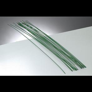 žica za oblikovanje - za oblikovanje rož, 1,2 mm, zelena b., dolžina: 40 cm, 1 kos
