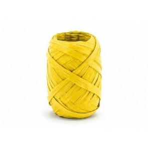 trak rafija - rumene b., širina: 5 mm, dolžina: 10 m, 1 kos