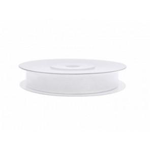 organza trak bel, širina: 6 mm, dolžina: 25 m