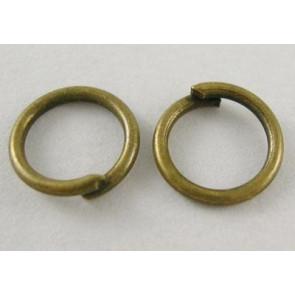 zaključni obroček 14 mm, antik, brez niklja, 50 gr