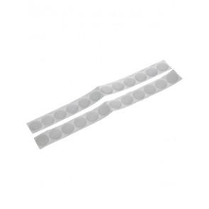 samolepilni sprijemalni krogi (ježki), 12 mm, bele barve, 1 par (A+B)