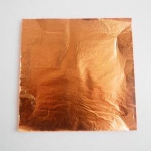 metalni lističi 14x14 cm, barkene barve, 1 kos