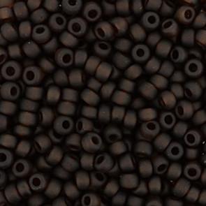 EFCO steklene perle 2,6 mm, t. rjave barve, 17 g