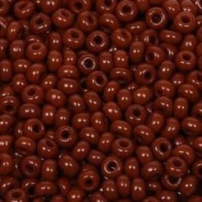 EFCO steklene perle 2,6 mm, rjave barve, 17 g