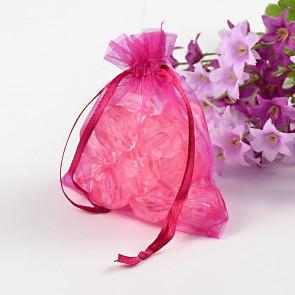 organza vrečke 7x9 cm, Fuchsia, 1 kos