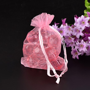 organza vrečke 7x9 cm, sv. roza, 1 kos
