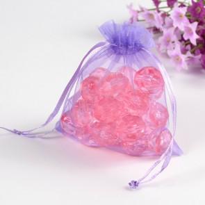 organza vrečke 12x10 cm, lilac, 1 kos