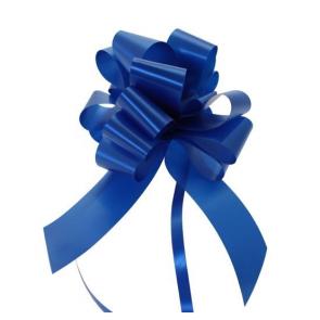 mašne na poteg, 12x18 cm, kraljevsko modra b., 1 kos