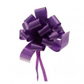 mašne na poteg, 12x18 cm, vijolična b., 1 kos