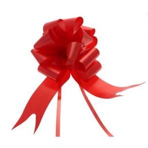 mašne na poteg, 15x18 cm, rdeča b., 1 kos
