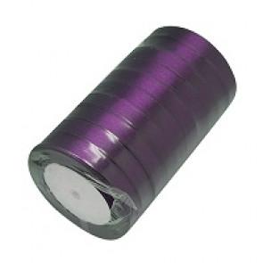 satenast trak vijola, širina: 12 mm, dolžina: 22 m
