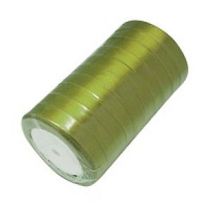 satenast trak olivno zelen, širina: 20 mm, dolžina: 22 m