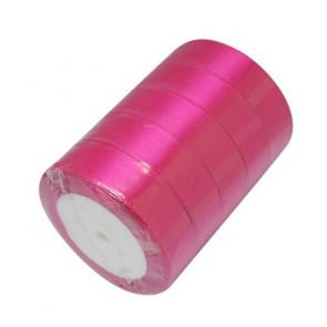 satenast trak pink, širina: 25 mm, dolžina: 22 m