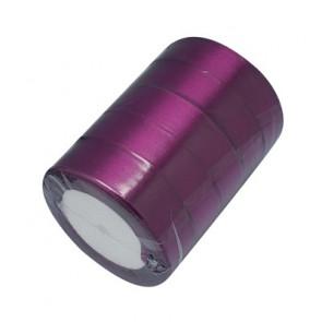 satenast trak vijola, širina: 25 mm, dolžina: 22 m
