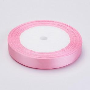 satenast trak, roza, širina: 37 mm, dolžina: 22,5 m, 1 kos