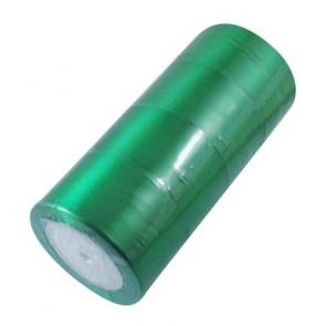 satenast trak zelen, širina: 50 mm, dolžina: 22 m