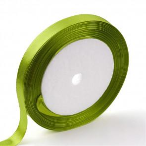 satenast trak Olive Drab, širina: 12 mm, dolžina: 22 m