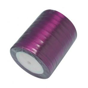 satenast trak vijola, širina: 6 mm, dolžina: 22 m