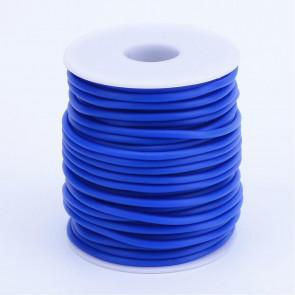 kavčuk osnova (gumi), debelina: 3 mm, modre b., velikost luknje: 1,5 mm, 1 m