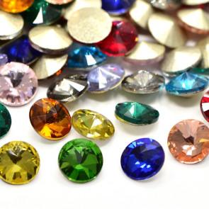 steklene perle brez luknje, kamenčki, 6mm, mix, 10 kos