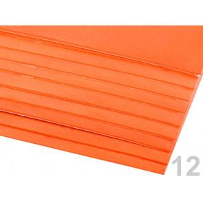 "penasta guma ""moosgumi"", samolepilna, 20x30 cm, debelina: 1,5-2 mm, oranžna b., 1 kos"