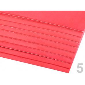 """penasta guma """"moosgumi"""", samolepilna, 20x30 cm, debelina: 1,5-2 mm, rdeče b., 1 kos"""