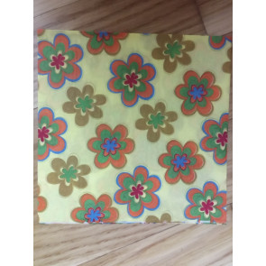 papirnate serviete 33x33 cm, 2-slojne, rumene, 1 kos