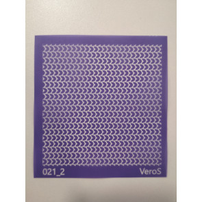SILK SCREEN 8,5x8,5 cm, št. 021_2, 1 kos