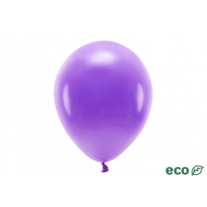 EKO balon, pastel, vijolična b., 26 cm, 1 kos